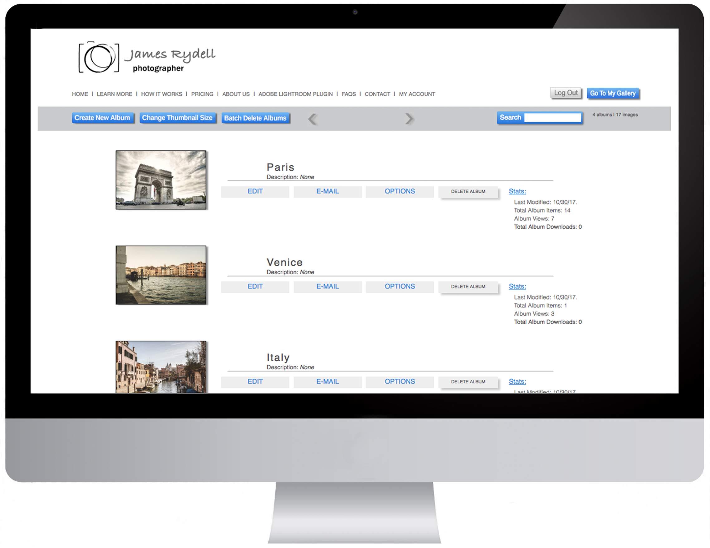 PixOasis - Digital Image Delivery